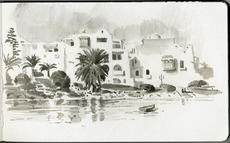 Monastir embankment
