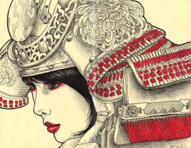 Samurai series: Chrusanthemum