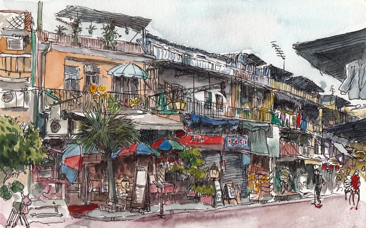 Sai Kung's street