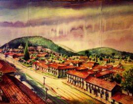 Panorámica del camino Real en la Ciudad de Orizaba, Veracrúz México