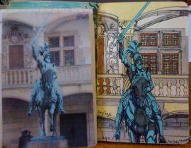 Knight on Horse , Stuttgart