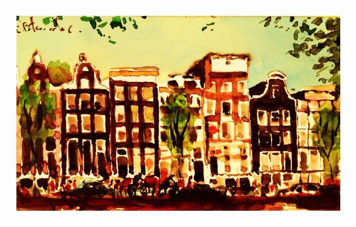 Amsterdam una Ciudad de bicicletas!