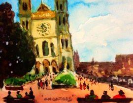 Descanso en Chartres!