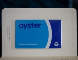 Oyster Card London City Hack