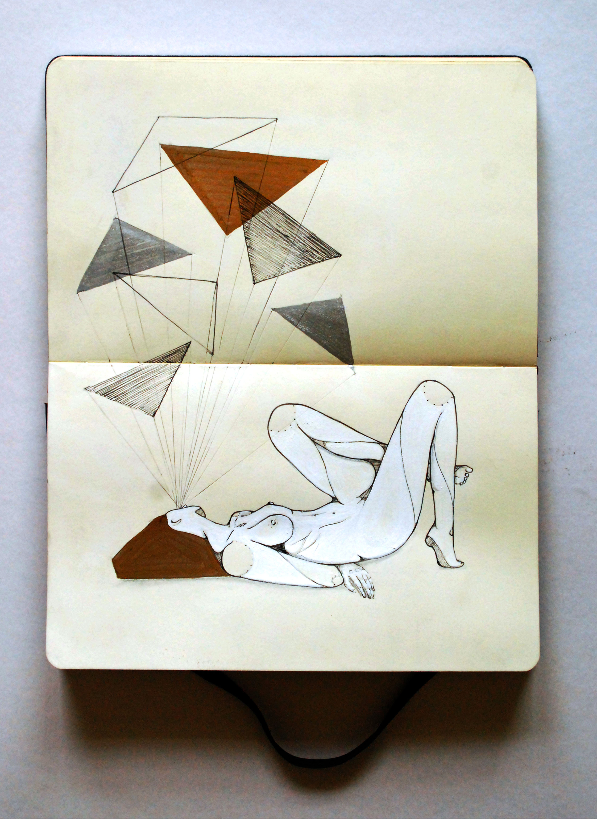 Moleskine | Refúgio | Gabriel Kieling