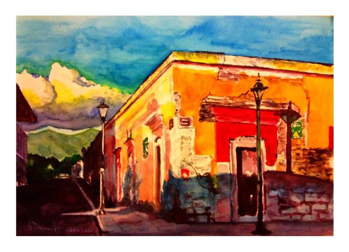 Luz dramática en Oaxaca!