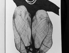 Moleskine illustration: Fishnet