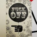 Moleskine Illustration: F-Off