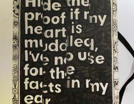 Moleskine illustration: Hide the proof