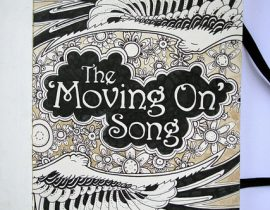 Moleskine illustration: The movin' on song