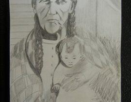 An older mother