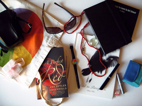 My moleskine & other essentials