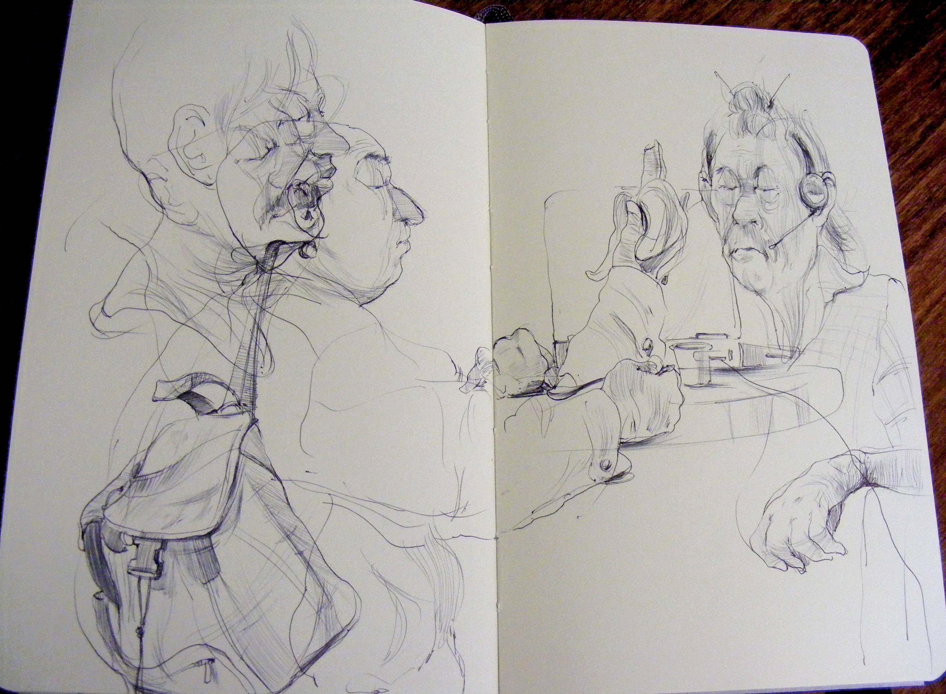 Coffee Shop Sketching