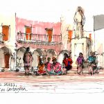 """Urban Sketching"" Workshop in Cartagena"