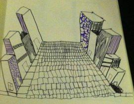 Sketchbook: Mainstreet patterns