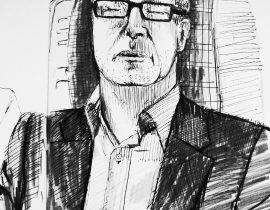 Sketch from the Train April 2013
