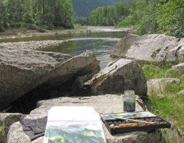Snejnaya river