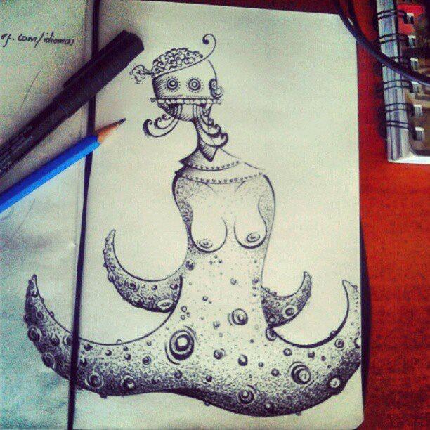 Nameless Cephalopod Creature