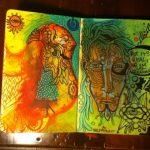 Self Potrait inside a  Lucid Dream…