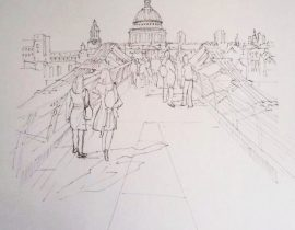 Millenium Bridge London May 2012