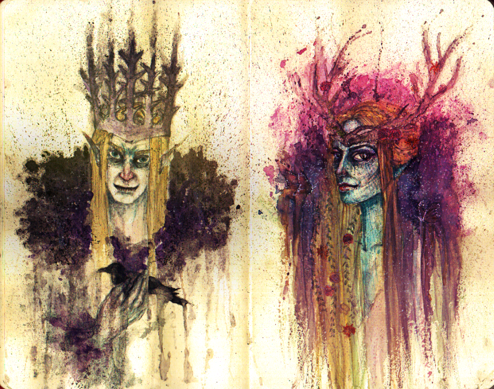 Oberon + Titania