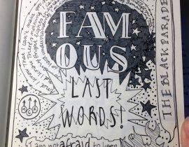 Famous last words.