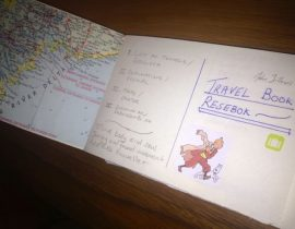 Travel Journal on the side
