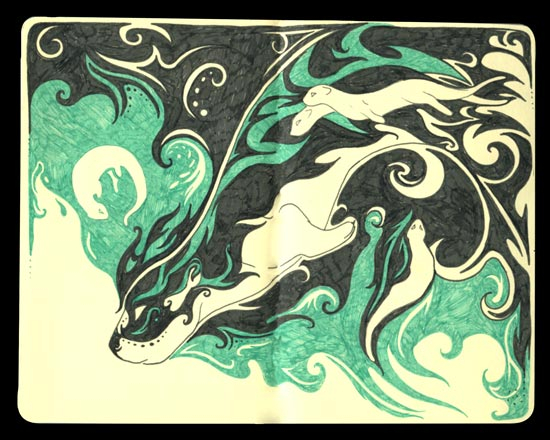Tri-Fold Dreams: Otter