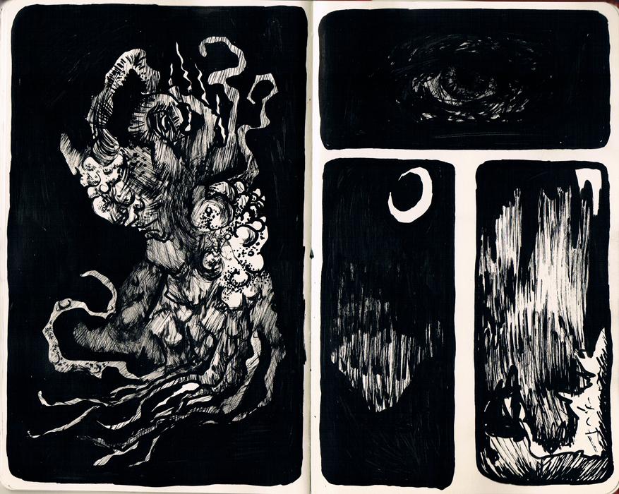 Untitled Sketchbook Pages