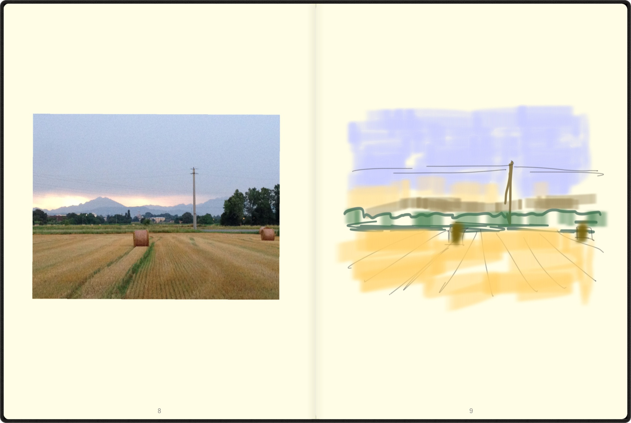 re-creating brianza in MoleskineJournal App