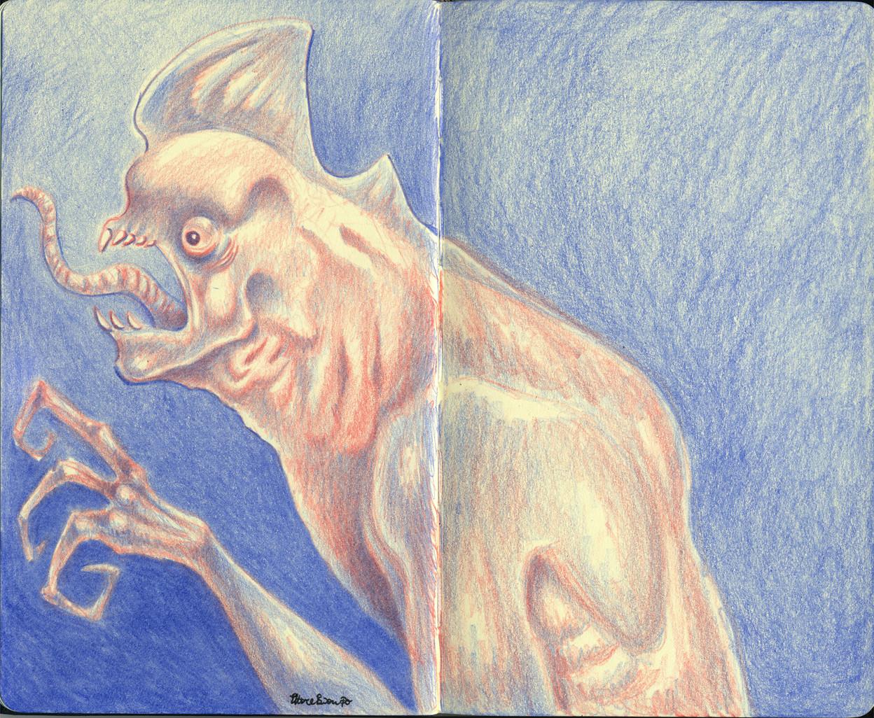 Kaiju sketch