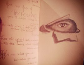 There's an eye in my moleskine!