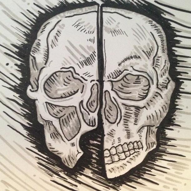 Skull from DV