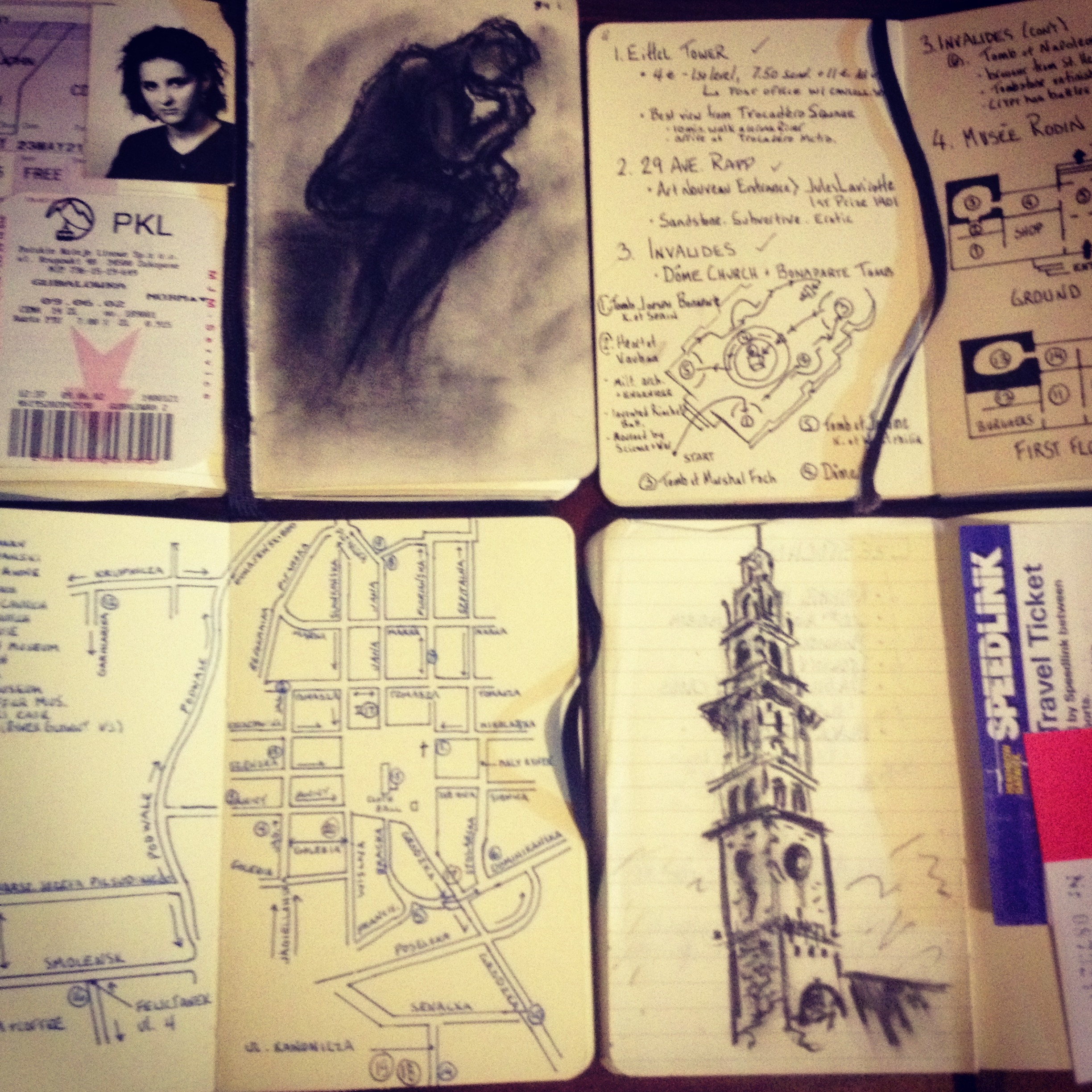 Moleskine: Accompanying Me Around the World Since 1992.