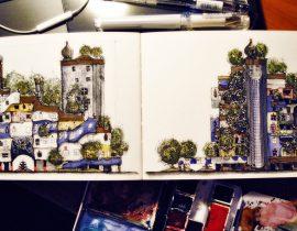 Hundertwasserhaus,Vienna