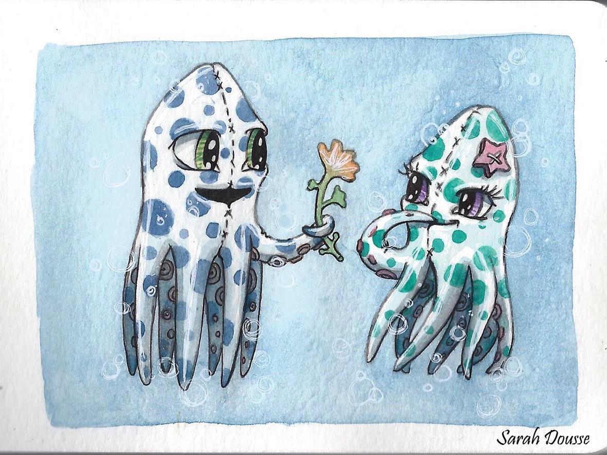 Fluffy Squids
