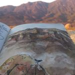 Santa Monica Hills- Sketch+Photo