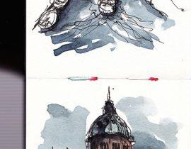 Amsterdam urban sketching