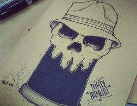 SKULLY CAN