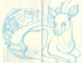 My dear #EN_sketchbook