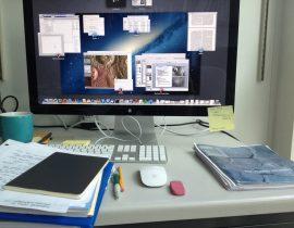 Grad School Desk