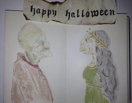 Halloween grotesque