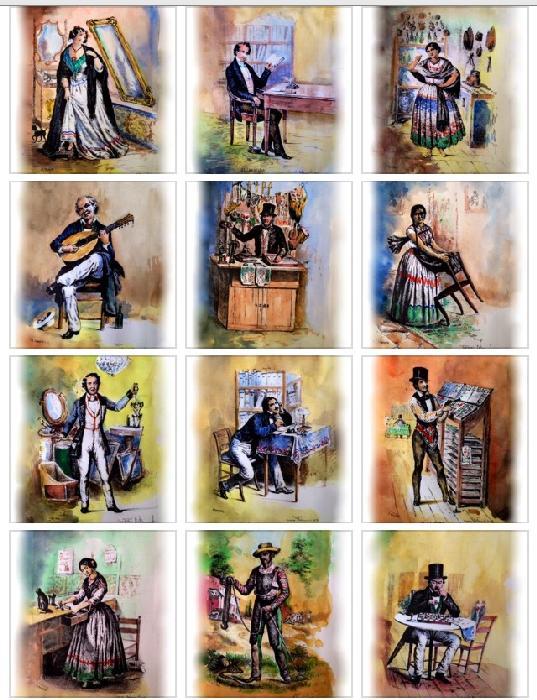 Los Mexicanos Pintados por si Mísmos!