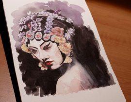 Chinese Opera Lady