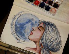 Full Long Nights Moon