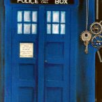 Doctor Who TARDIS custom cover