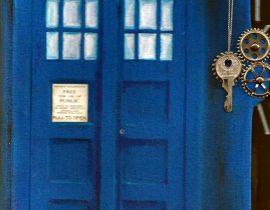 Doctor Who TARDIS custom cover