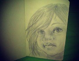 Negro Little Girl