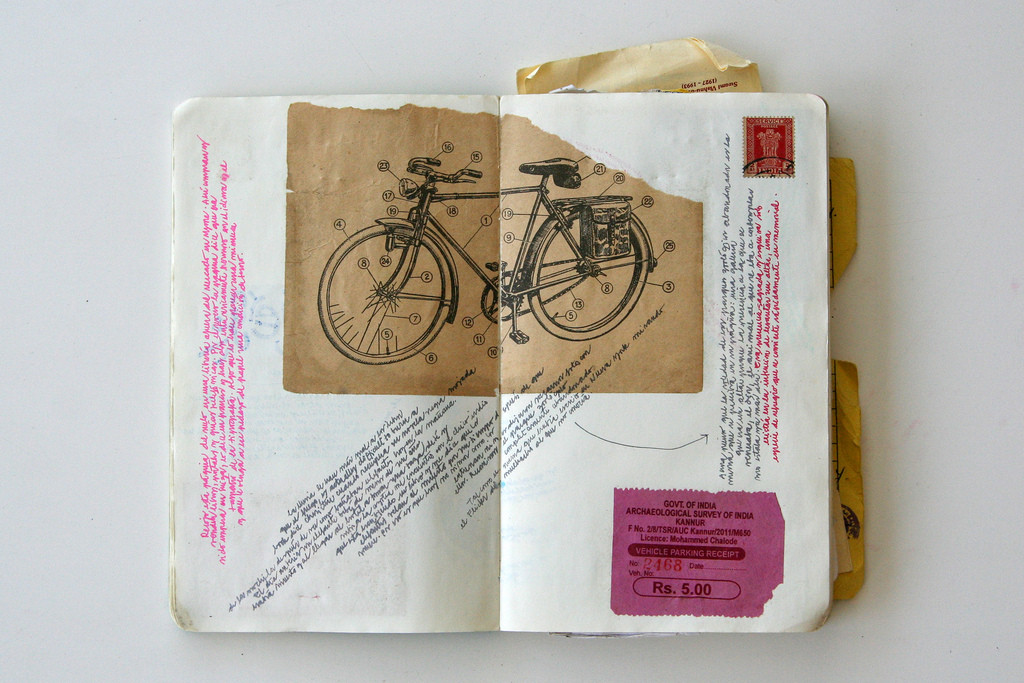 Travel Notebook, Mysore, India