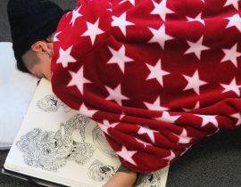 Sketchbook Sleep Selfie